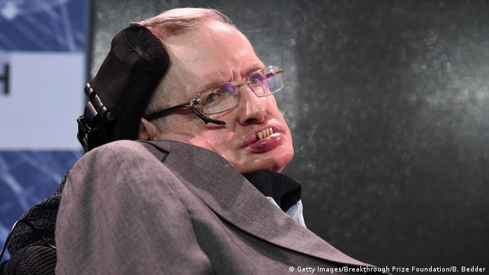 USA New York - Stephen Hawking (Getty Images/Breakthrough Prize Foundation/B. Bedder)