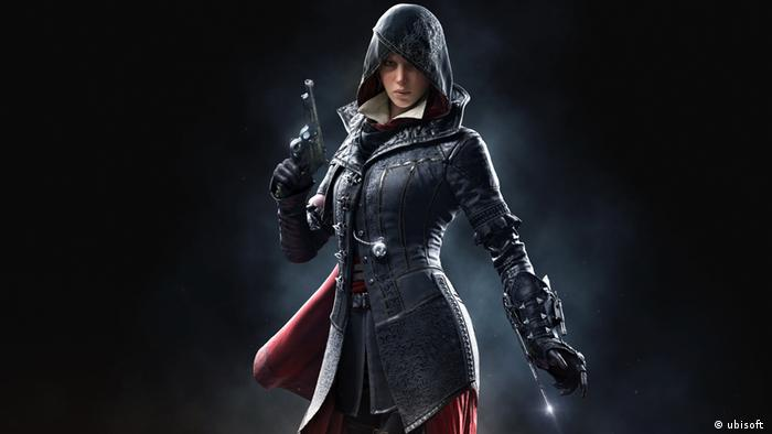 Computerspiel Assassin's Creed Syndicate - weibliche Hauptrolle Evie (2015) (ubisoft )