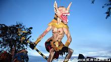 Ogoh-ogoh Ritual, Begrüßung des Tages der Stille in Bali