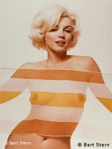 Marilyn Monroe aus der Serie The last sitting