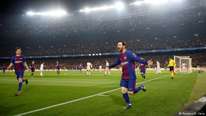 UEFA Champions League Achtelfinale | FC Barcelona - FC Chelsea | TOR Barcelona (Reuters/S. Vera)