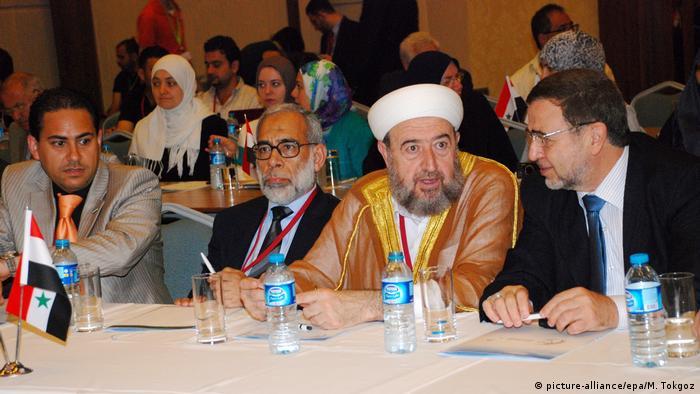 Suriyeli muhaliflerin Temmuz 2011'de İstanbul'da gerçekleştirdiği bir toplantıdan kare