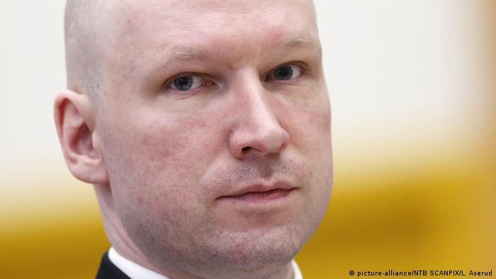 ЄСПЛ відхилив скаргу Брейвіка на умови ув'язнення