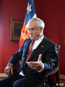 Chile Präsident Sebastián Piñera
