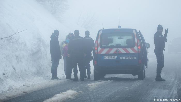 Frankreich | Italien Flüchtlinge versuchen die Berge des Piedmont zu überqueren