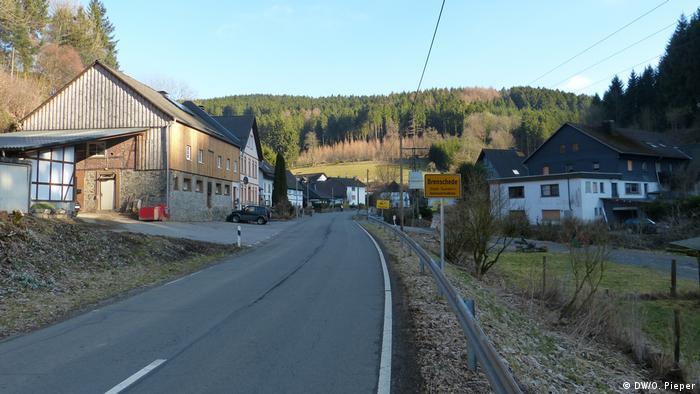 Dorf Brenschede im Sauerland