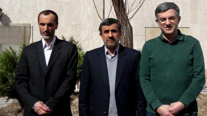 احمدینژاد، رحیممشایی و حمید بقایی