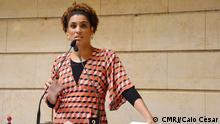 Titel: Marielle Franco Beschreibung: Brasilianische Abgeordnete Marielle Franco Datum: 4.April.2017 Copyright: Caio César/CMRJ
