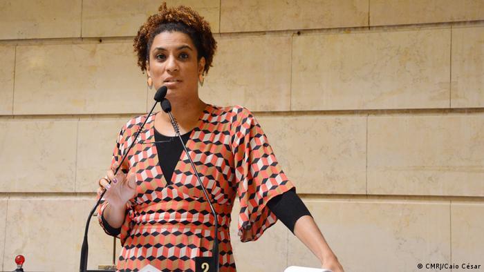 Marielle, de 38 anos, foi a quinta mais votada nas eleições de 2016, recebendo 46,5 mil votos.em sua primeira disputa eleitoral