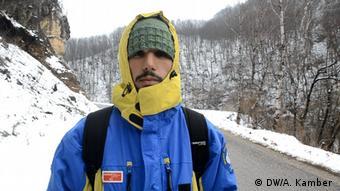 Bosnien und Herzegowina Flüchtling aus Syrien (DW/A. Kamber )