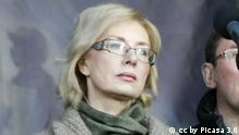 Lyudmyla Denisova, Ukrainian politician, Minister of Social Policy of Ukraine. Quelle: https://en.wikipedia.org/wiki/Lyudmyla_Denisova#/media/File:Lyudmyla_Denisova.jpg