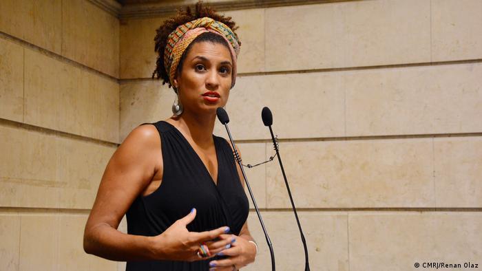 A vereadora Marielle Franco (Psol), assassinada a tiros em 2018 no Rio