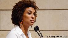 Die Brasilianische Politikerin Marielle Franco. Datum: 15.02.2017 Copyright: Renan Olaz/CMRJ