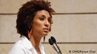 Marielle, feminista e ativista do movimento negro