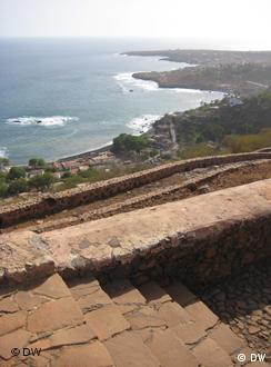 A Fortaleza de São Filipe, um dos ex-libris da Cidade Velha.