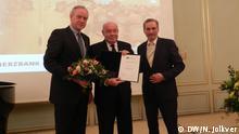 Festveranstaltung des Deutsch-Russischen Forums mit Sigmar Gabriel und Michail Schwydkoj (Russland) DW, Nikita Jolkver; Berlin 15.03.2018
