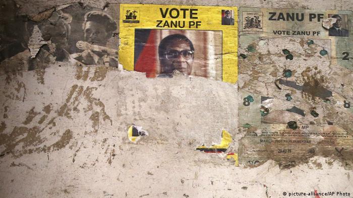 Robert Mugabe election poster