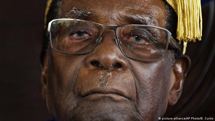 Simbabwe Robert Mugabe 2017, Präsident