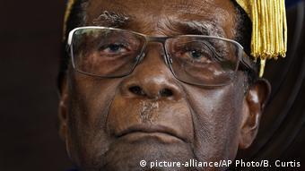 Ousted president Robert Mugabe of Zimbabwe