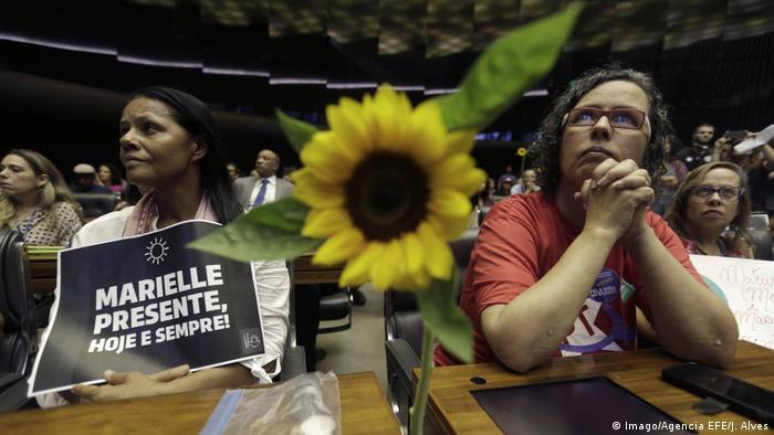 Homenagem a Marielle Franco na Câmara dos Deputados