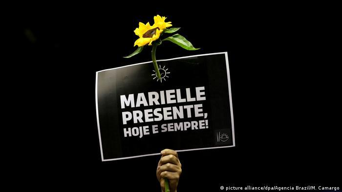 Cartaz: Marielle presente, hoje e sempre