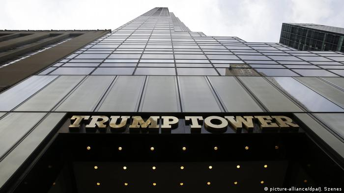 USA Trump Tower - Unternehmen (picture-alliance/dpa/J. Szenes)