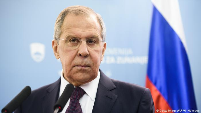 Russian Foreign Minister Sergei Lavrov says Moscow is open to bilteral talks with the UK (Getty Images/AFP/J. Makovec)