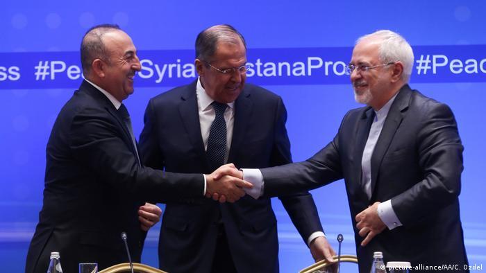 Kasachstan Syriengespräche in Astana (picture-alliance/AA/C. Ozdel)