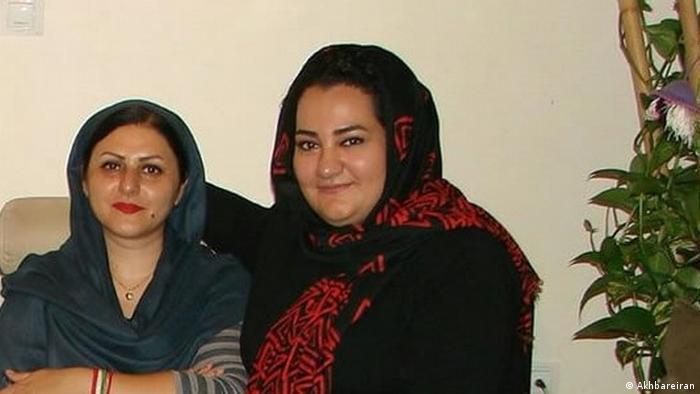 Kolrokh Araie und Atena Daemi (Akhbareiran)