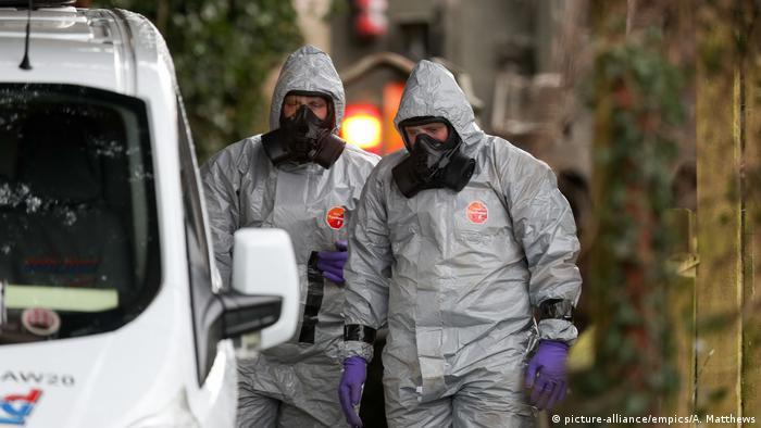 Giftanschlag auf Sergej Skripal in Salisbury