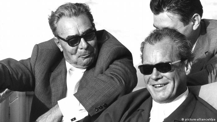Вилли Брандт у Леонида Брежнева в Крыму в сентябре 1971 года