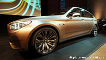BMW пятой серии Гран туризмо