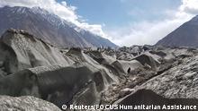 Pakistan Khurdopin Gletscher im Shimshal-Tal