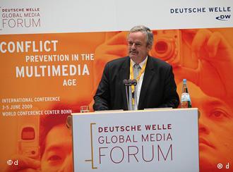 Erik Bettermann, director general de Deutsche Welle.