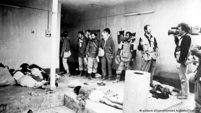 حضور خبرنگاران در صحنه جنایت در حلبچه ۲۱ مارس ۱۹۸۸