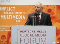 Günter Nooke durante su discurso.