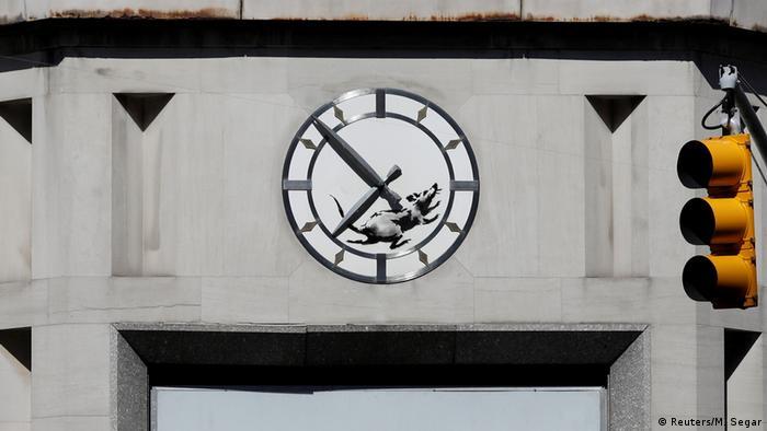 USA neues Werk des Street-Art-Künstlers Banksy (Reuters/M. Segar)