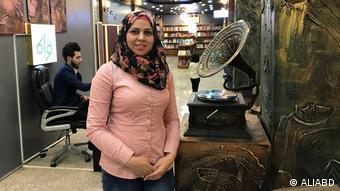The civil activist Zahra Abdali (ALIABD)
