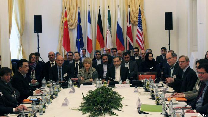 Österreich Treffen Iran Atomabkommen in Wien (Irna)