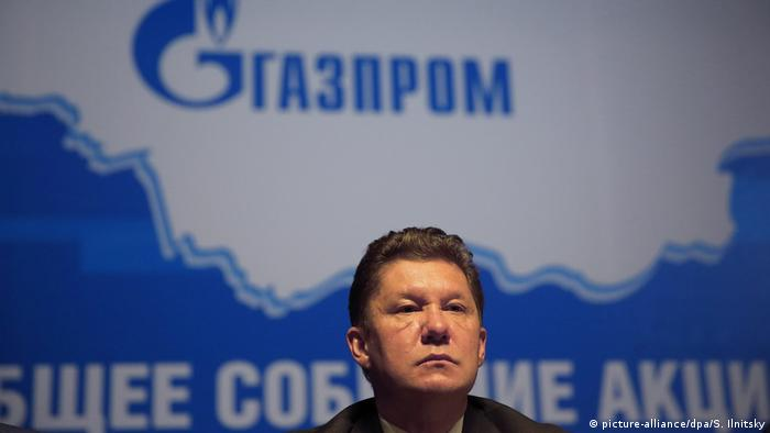 Gazproms Chef Alexei Miller