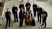Sarah Willis und Musiker der Berliner Philharmoniker