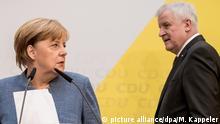 Angela Merkel und Horst Seehofer Union einigt sich auf Kompromiss im Flüchtlingsstreit