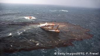 Η πετρελαιοκηλίδα του τάνκερ Amoco Cadiz, 1978