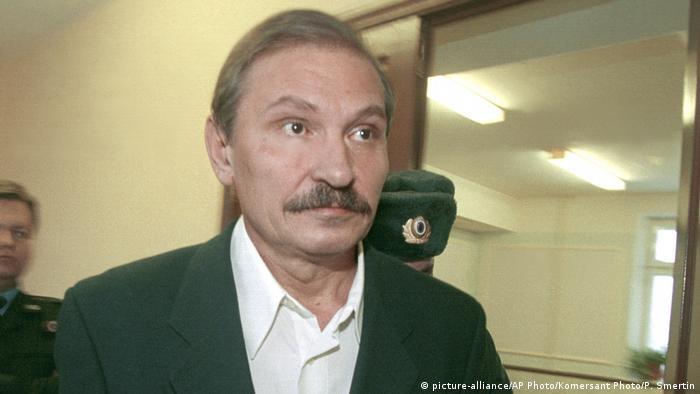 Николай Глушков в 2000 году