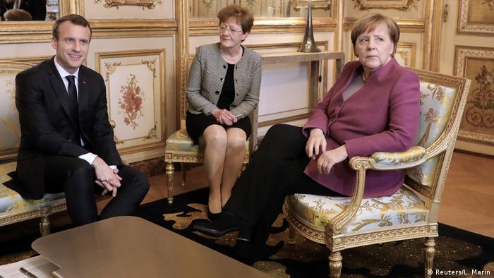 Merkel ve Macron AB reformlarını görüşecek