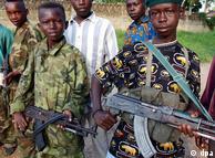 Niños soldados en el Congo: otra forma de esclavitud.