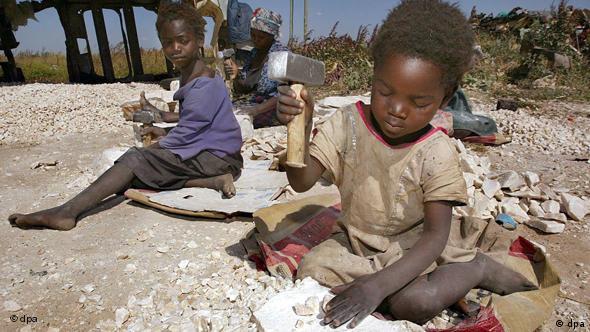 Welttag gegen Kinderarbeit - Kinderarbeit in Sambia Flash-Galerie
