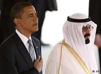 Barack Obama and King Abdullah