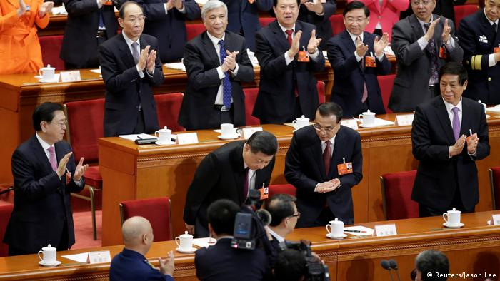 China Präsident Xi einstimmig im Amt bestätigt (Reuters/Jason Lee)