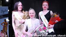Erste Wahl der «Miss Albino Simbabwe»